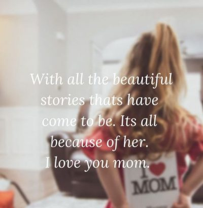 Mother's Day Quotes From Daughter