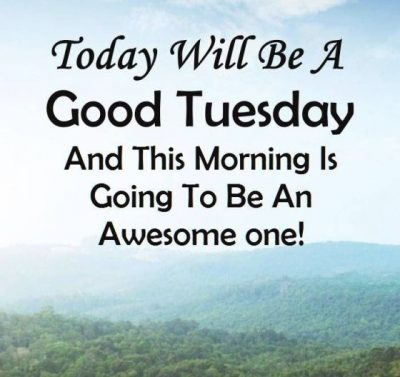 Tuesday Morning Quotations