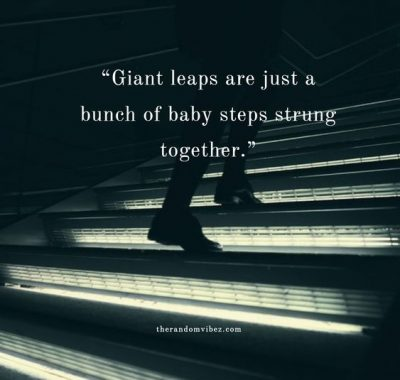Baby Steps Picture Quotes
