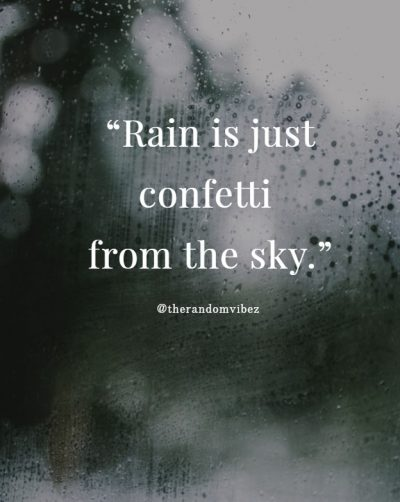 Funny Rain Quotes