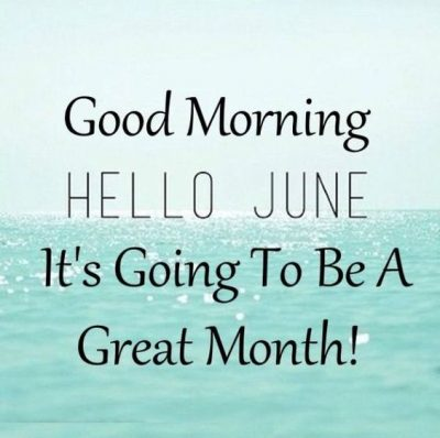 Welcome June Month 2021