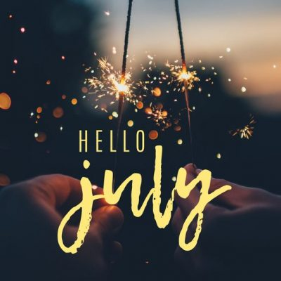 Hello July Wishes Quotes