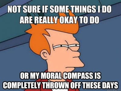 Moral Compass Funny
