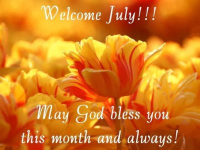 Welcome July Picture For Facebook