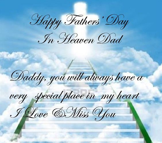 Happy Fathers Day In Heaven Dad Images