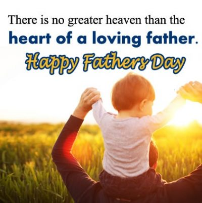 Beautiful Father's Day In Heaven Picture
