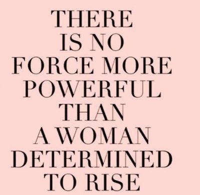 Determined Women Quotes