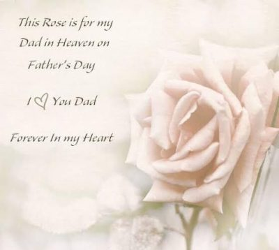 Greetings For Father In Heaven