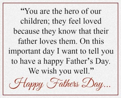 Happy Fathers Day Inspirational Messages