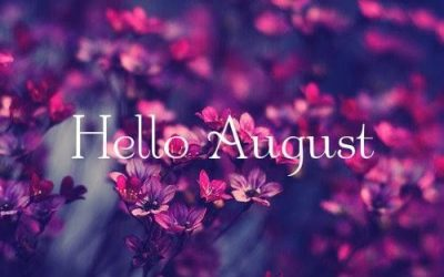 Hello August Floral Pic