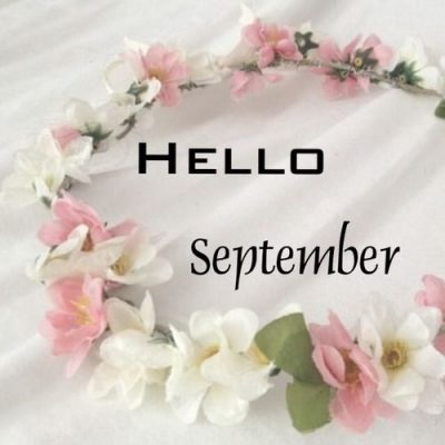 Hello September Floral Picture