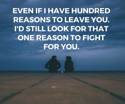 Love Quotes After Fighting