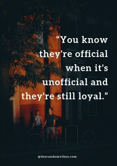 Being Loyal In a Relationship Captions