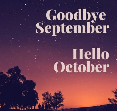 Good bye September