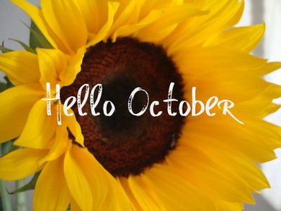 Hello October Flower Pics