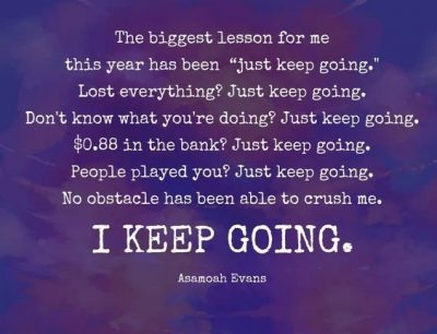 Inspirational Keep Going Quotes
