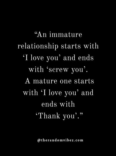 Mature Relationship Quotes Images