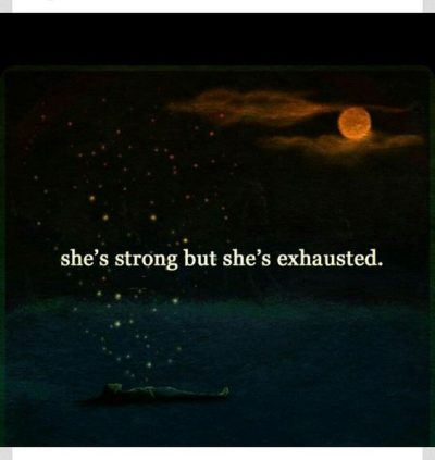 Mentally Exhausted Quotes