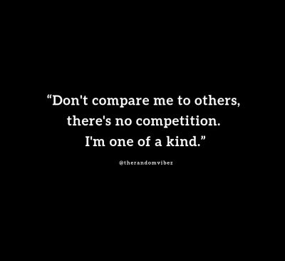 No Competition Quotes