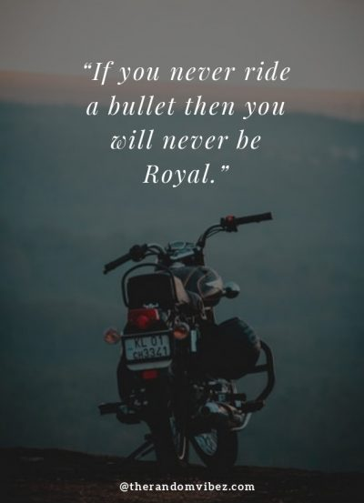 Royal Enfield Bullet Thoughts
