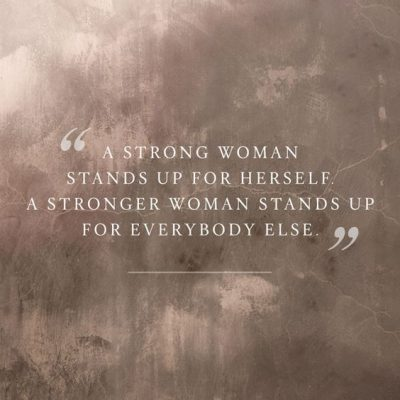 Stay Strong Women Quotes