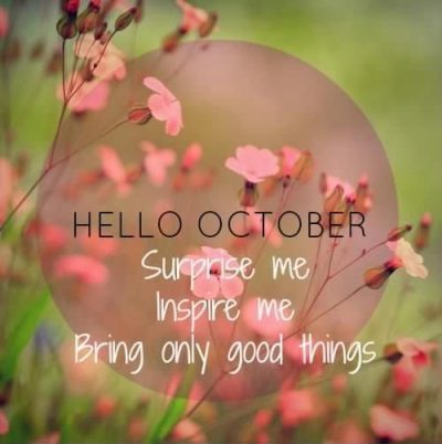 Sweet October Sayings