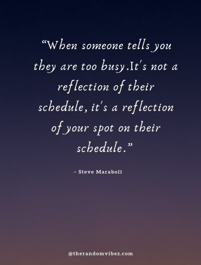 Time And Priority Quotes