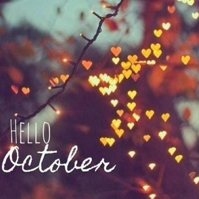 Welcome October Background Pic