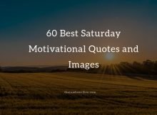 60 Best Saturday Motivational Quotes and Images