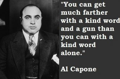 Al Capone Quotes Images