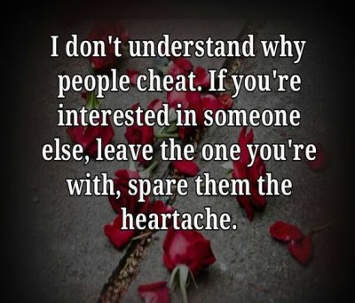Cheating Men Picture Quotes