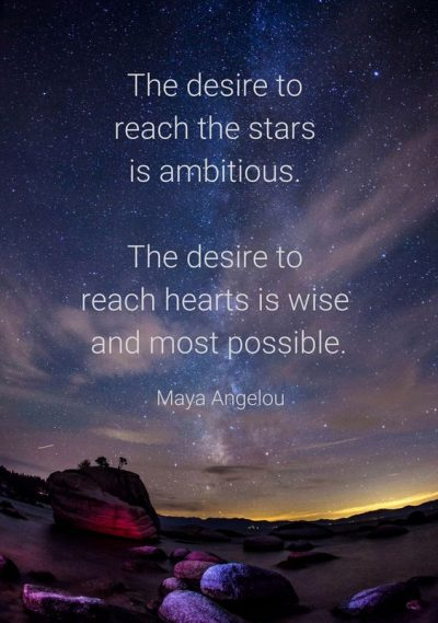 Famous Reach For The Stars Quotations