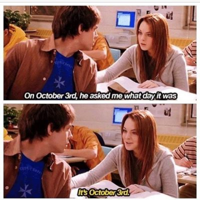 Mean Girl 3rd October Quotes