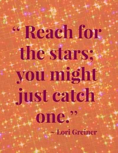 Motivational Reach For The Stars Quotes