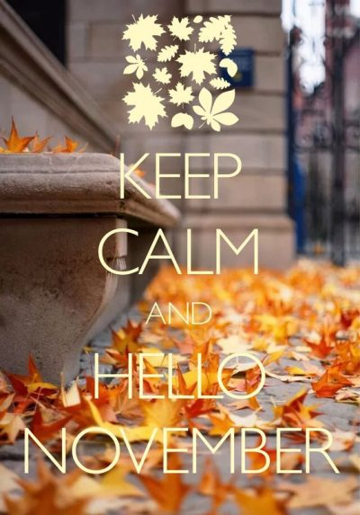 November Picture Quotes For Facebook