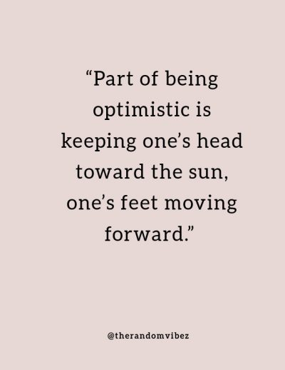 Optimistic Images and Quotes