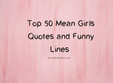 Top Mean Girl Quotes and Images
