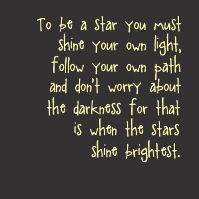 Touching The Stars Quote