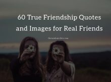 60 True Friendship Quotes and Images