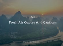 Best Fresh Air Quotes And Sayings