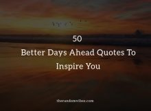 Better Days Quotes And Sayings