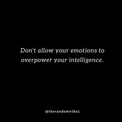 Emotions and Control Quotes