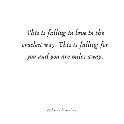 Falling For You Poems