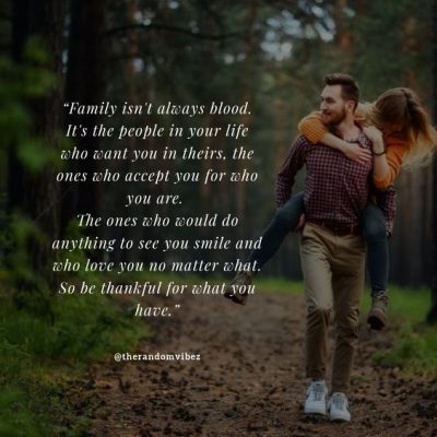 Family Is Not Always Blood Quotes Images