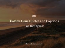 Golden Hour Quotes And Captions