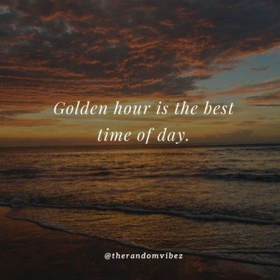 Golden Hour Quotes Images