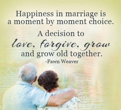Growing Old Together In Marriage