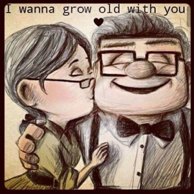 I Wanna Grow Old With You Funny