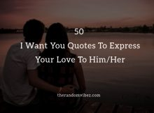 I Want You Quotes and Images