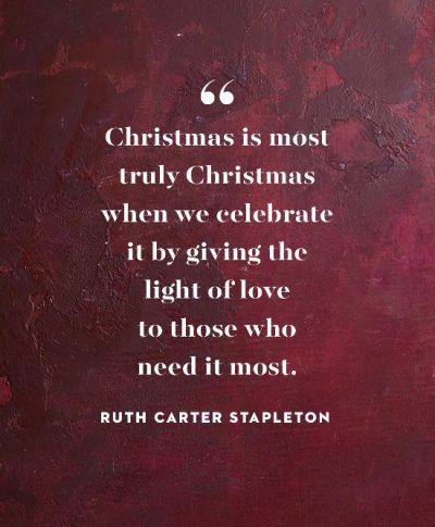 Inspirational Christmas Quotations